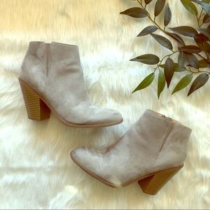 Banana Republic Suede Booties